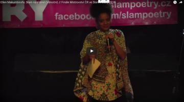 Ellen Makumbirofa: Slam na slámě